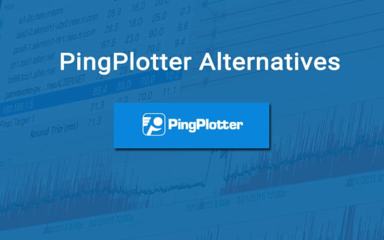 pingplotter alternatives for grahpical Traceroute