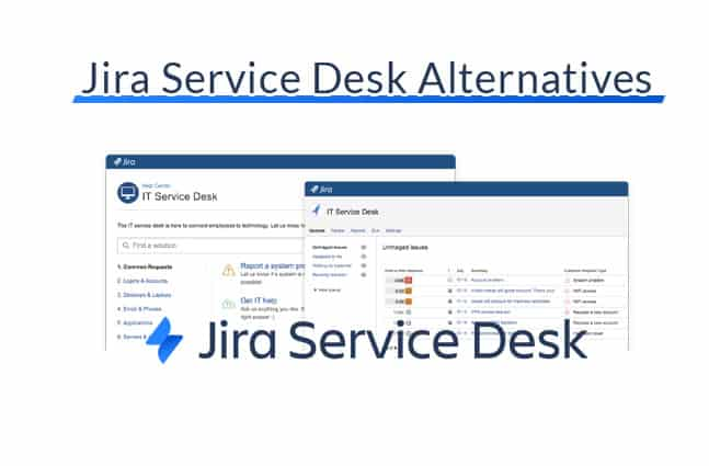jira service desk alternatives