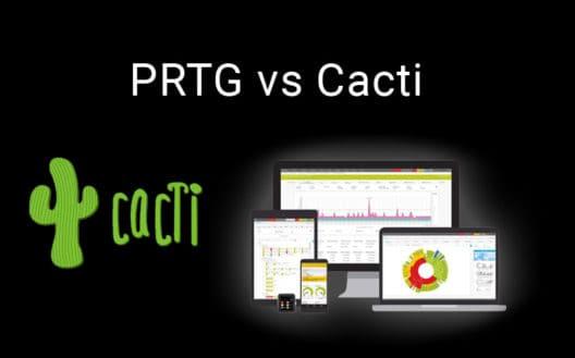 prtg vs cacti