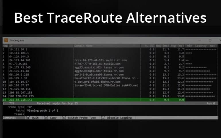 Best TraceRoute Alternatives of 2019 for Troubleshooting