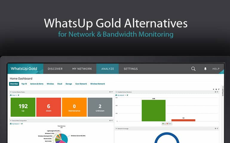 whatsup gold alternatives and replacments